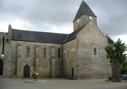 Eglise Aubigné sur Layon