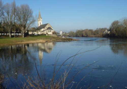 Eglise St Maurille à Chalonnes sur Loire