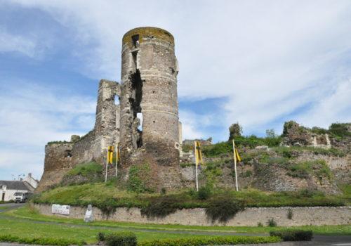 Chateau Gilles de Rai à Champtocé